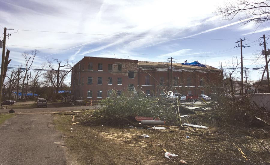 Cleaning Hattiesburg: Rebuilding after a Deadly EF3 Tornado