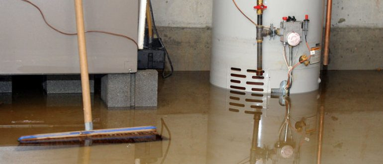 Prevent water damage to your furnace