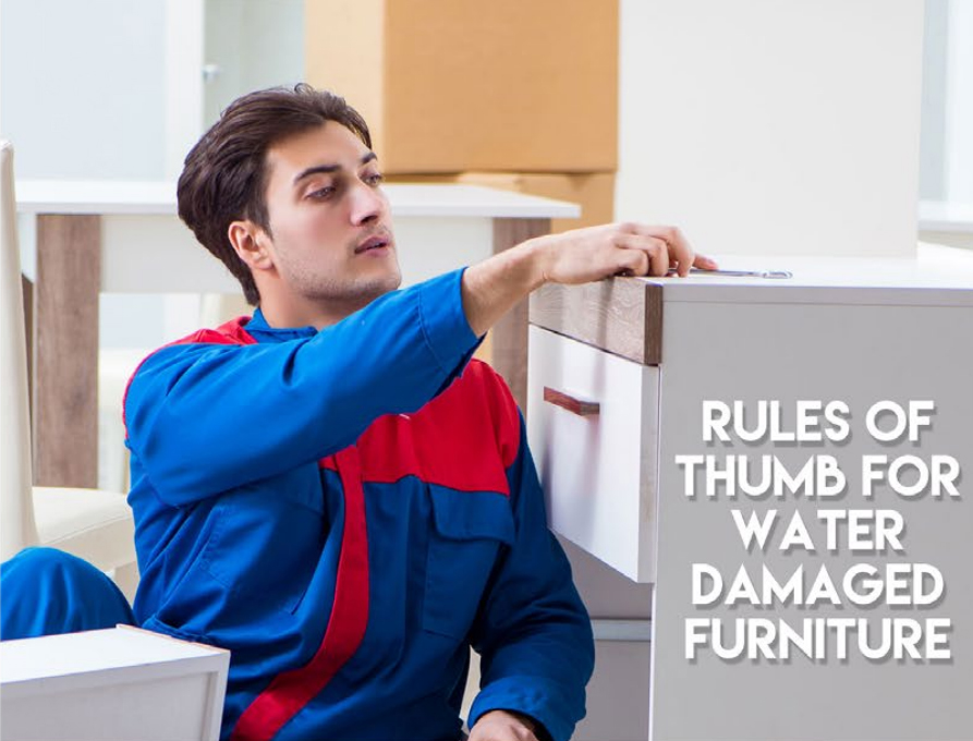 Rules of Thumb for Water Damaged Furniture