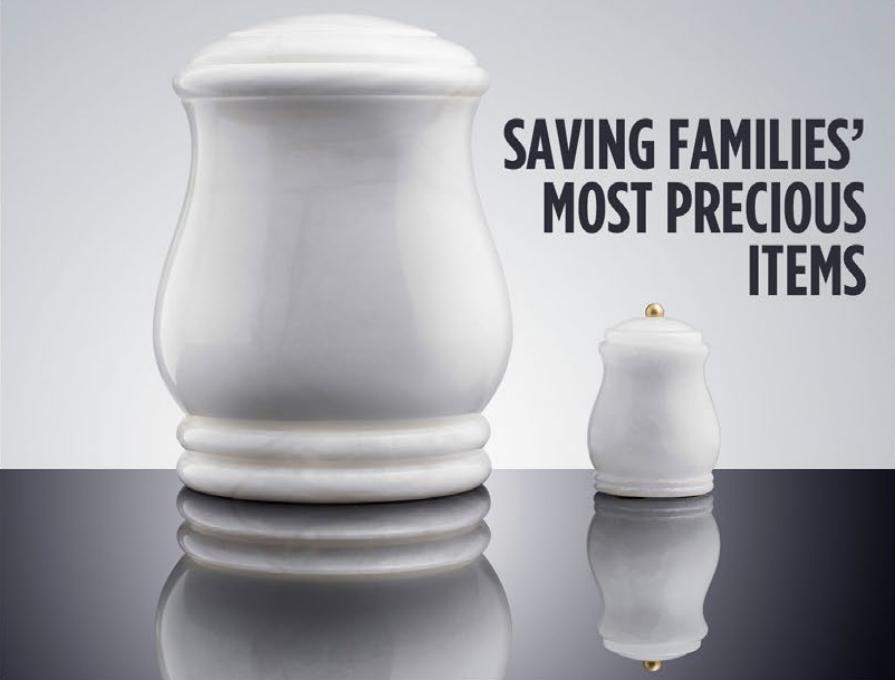 Saving Families most Precious Items