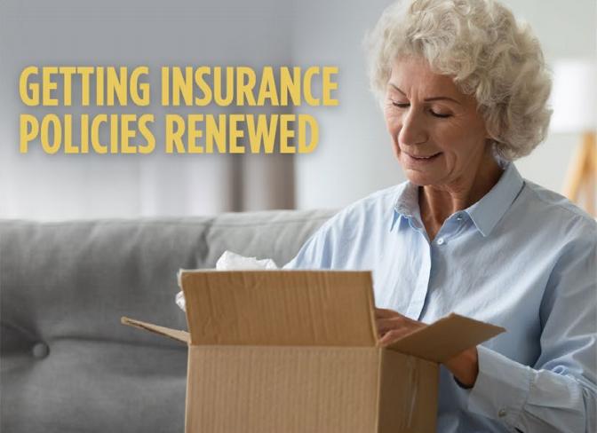 Getting Insurance Policies Renewed