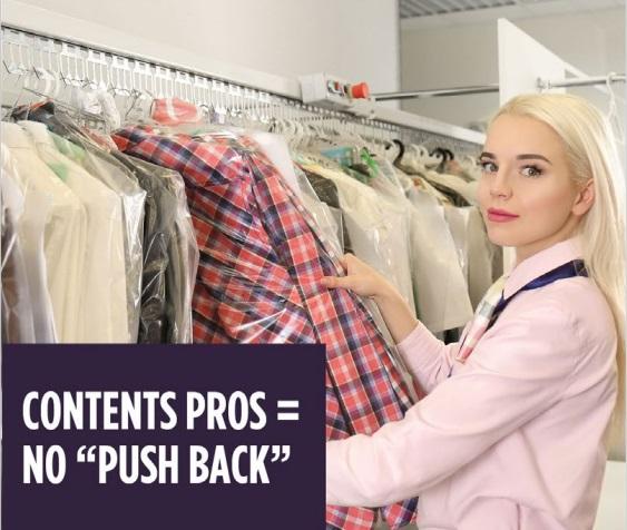 "Content Valet = No ""Push Back"""