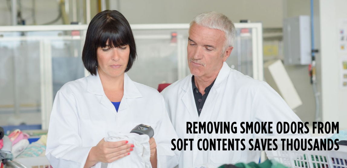 Removing Smoke Odors from Soft Content Save Thousands